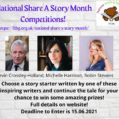 National Share a Story Month – Writing Competition!